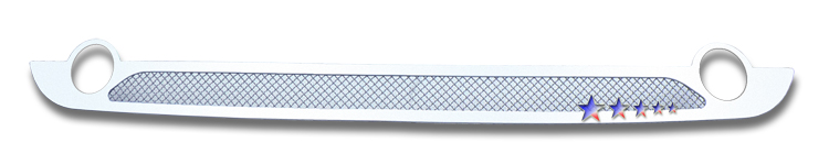 Saab 9-7x  2007-2010 Chrome Lower Bumper Mesh Grille