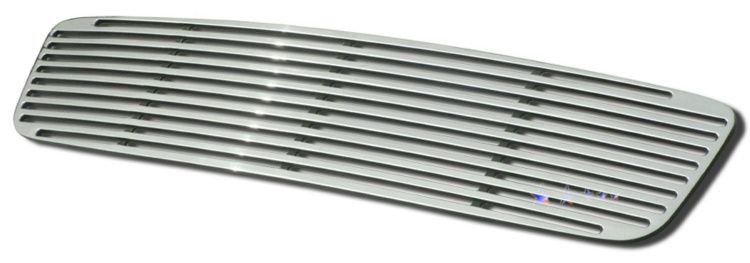Volvo Xc90 05-06 Polished Aluminum Main Front Grill