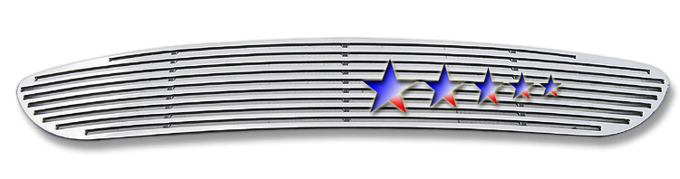 Volkswagen Touareg  2003-2007 Polished Lower Bumper Perimeter Grille