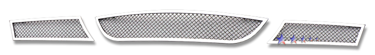 Bmw 3 Series 330i 2006-2007 Chrome Lower Bumper Mesh Grille