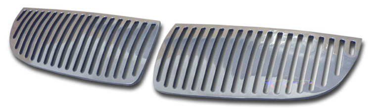 Bmw 3 Series 330i 2006-2007 Polished Main Upper Perimeter Grille