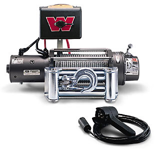 Warn Winches - Land Rover 4.0 SE Warn Winches