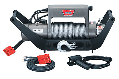 WARN� XD9000i Multi-Mount KitTM Portable Winch 12V DC