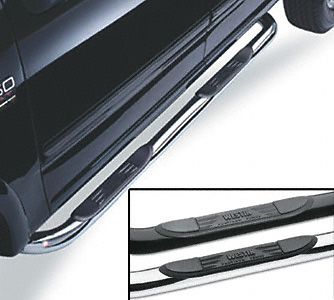 Westin Platinum Series Black Step Bars 2004 Ford F150 SuperCab