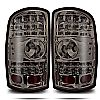 2001 Gmc Yukon   Chrome/Smoke  LED Tail Lights
