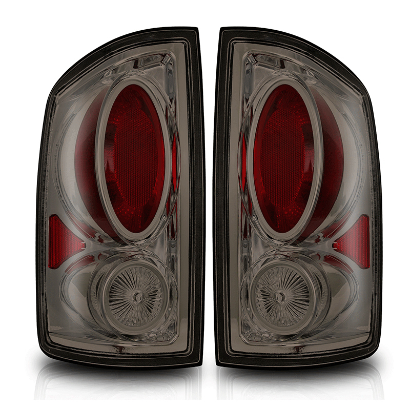 Dodge Ram  2002-2006 Chrome/Smoke Euro Tail Lights