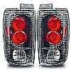 2000 Ford Expedition   Carbon Fiber / Clear Euro Tail Lights