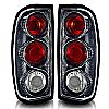 2001 Nissan Frontier   Carbon Fiber / Clear Euro Tail Lights