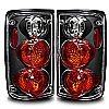 1991 Toyota Toyota Pickup   Black / Clear Euro Tail Lights