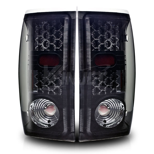 Ford Ranger  1993-2000 Black / Smoke LED Tail Lights