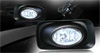 Acura TSX  2004-2006 Clear OEM Fog Lights (wiring Kit Included)