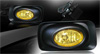 2005 Acura TSX   Yellow OEM Fog Lights (wiring Kit Included)