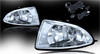Honda Civic  2004-2005 Clear OEM Fog Lights (wiring Kit Included)