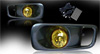 Honda Civic Si / Type R 1999-2000 Yellow OEM Fog Lights (wiring Kit Included)