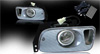 1995 Honda Civic 2/3dr  Clear OEM Fog Lights (wiring Kit Included)