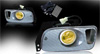 1995 Honda Civic 2/3dr  Yellow OEM Fog Lights (wiring Kit Included)