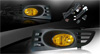 2004 Honda Accord 2dr  Yellow OEM Fog Lights (wiring Kit Included)