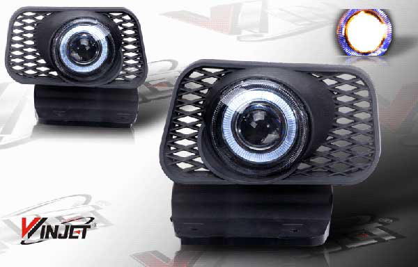 Chevrolet Silverado  2003-2007 Clear Halo Projector Fog Lights (w/O Body Cladding)