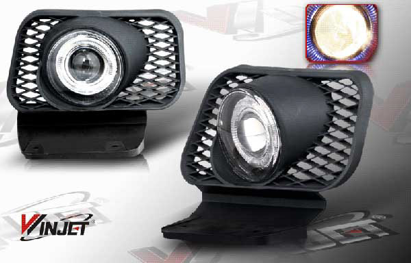 Chevrolet Silverado 2003-2006 Halo Projector Smoked Fog Lights