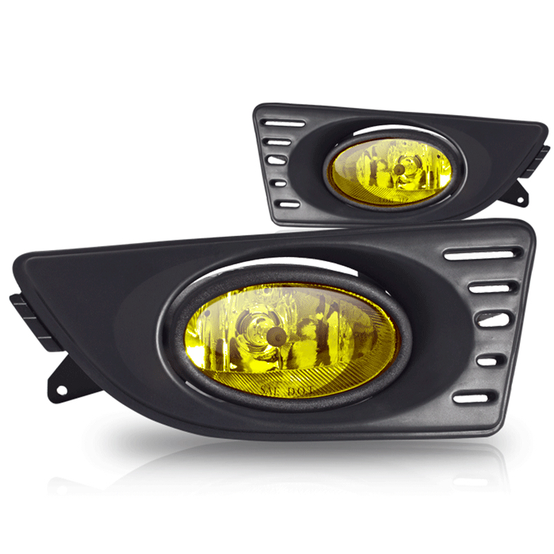 Acura RSX  2005-2007 Yellow OEM Fog Lights (wiring Kit Included)