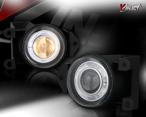 Ford Super Duty  1999-2004 Clear Halo Projector Fog Lights