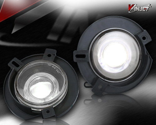 Ford Explorer  2002-2005 Clear Halo Projector Fog Lights