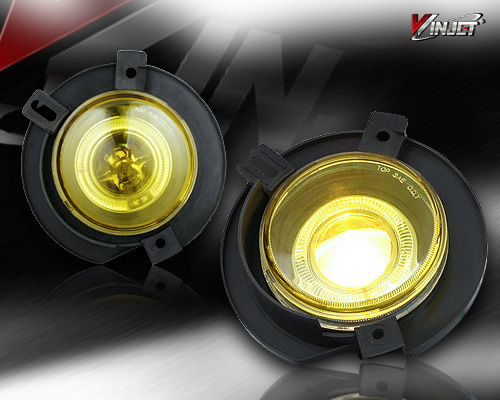 Ford Explorer  2002-2005 Yellow Halo Projector Fog Lights
