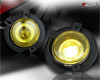 2002 Ford Explorer   Yellow Halo Projector Fog Lights