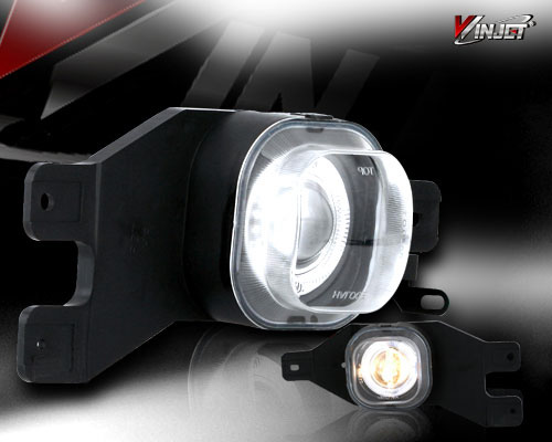 GMC Yukon 2000-2005 Halo Projector Clear Fog Lights