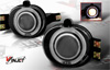 2002 Dodge Ram  Smoked Halo Projector Fog Lights