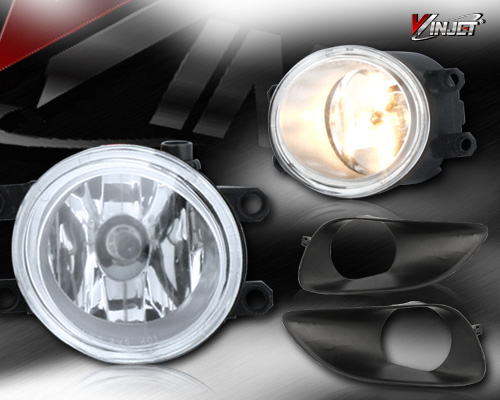 Toyota Yaris 4dr 2006-2010 Clear OEM Fog Lights (wiring Kit Included)
