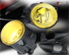 2008 Toyota Yaris 4dr  Yellow OEM Fog Lights (wiring Kit Included)