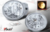 2001 Toyota Sequoia  OEM Style Clear Fog Lights
