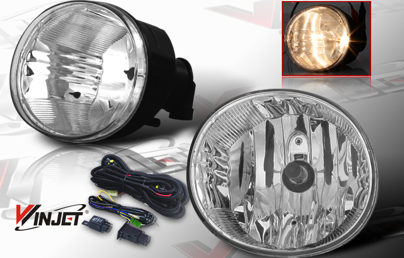Toyota RAV4  2004-2005 Smoke OEM Fog Lights (wiring Kit Included)