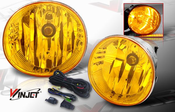 Toyota RAV4  2004-2005 Yellow OEM Fog Lights (wiring Kit Included)