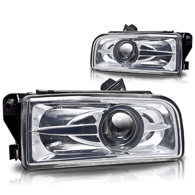 Bmw 3 Series E36 1992-1998 Clear Halo Projector Fog Lights