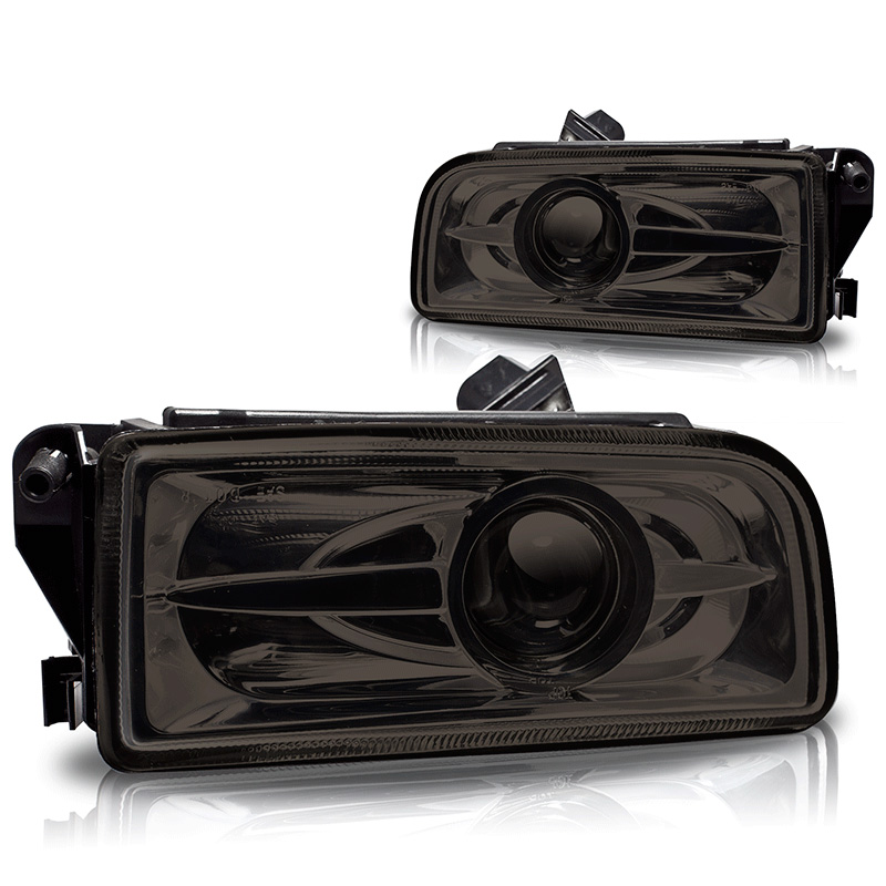 Bmw 3 Series E36 1992-1998 Smoke Halo Projector Fog Lights
