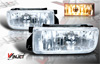 1993 Bmw 3 Series E36  Clear OEM Fog Lights