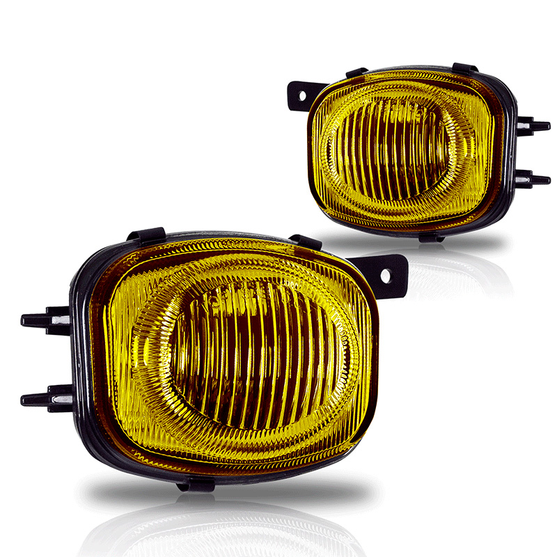 Mitsubishi Eclipse  2000-2002 Yellow OEM Fog Lights