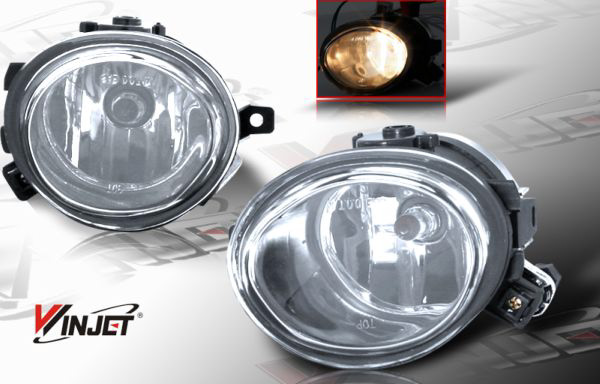 Bmw 3 Series E46 2001-2005 Clear OEM Fog Lights
