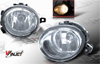 2001 Bmw 3 Series E46  Clear OEM Fog Lights