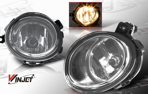 Bmw 3 Series E46 2001-2005 Smoke OEM Fog Lights