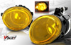 2004 Bmw 3 Series E46  Yellow OEM Fog Lights