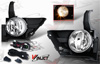 Honda Crv  2005-2006 Smoke OEM Fog Lights (wiring Kit Included)