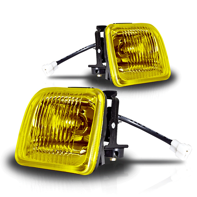 Honda Civic  1996-1998 Yellow OEM Fog Lights (wiring Kit Included)