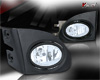 Honda Civic Si 3dr 2002-2005 Clear OEM Fog Lights (wiring Kit Included)