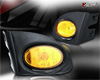 Honda Civic Si 3dr 2002-2005 Yellow OEM Fog Lights (wiring Kit Included)