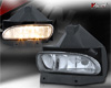 2002 Ford Mustang   Clear OEM Fog Lights