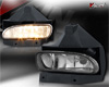 2002 Ford Mustang   Smoke OEM Fog Lights