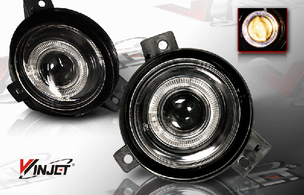 Ford Ranger  2001-2003 Smoke Halo Projector Fog Lights